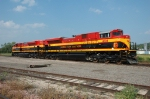 KCS 4034 - 4037, EMD SD70ACe, on the BNSF